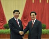 胡锦涛、习近平会见十八大代表等发表讲话