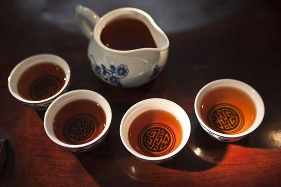 黑茶简易冲泡法