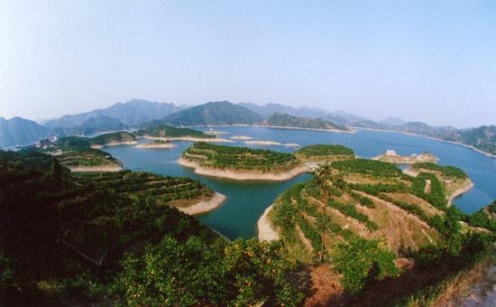 """""""千岛之湖""""——柘溪水库"""