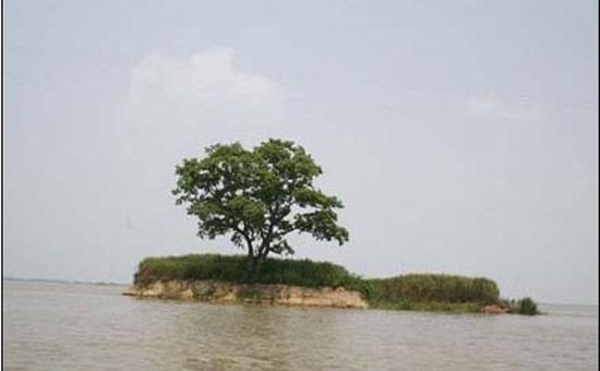 洞庭湖道上舵杆洲的传说