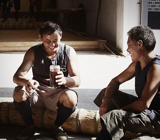《我们的黑茶》摄影艺术展作品之茶工风采篇(二)