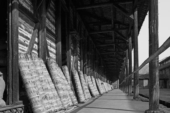 《我们的黑茶》摄影艺术展作品之茶镇古坊篇
