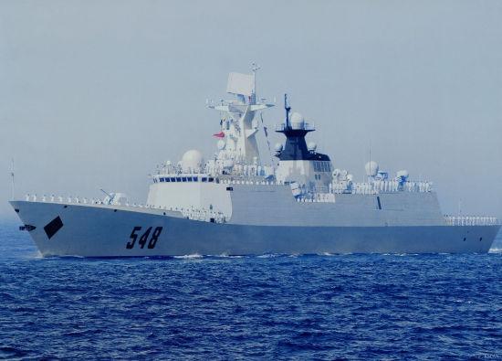中国海军第十二批护航编队三艘舰艇访问越南